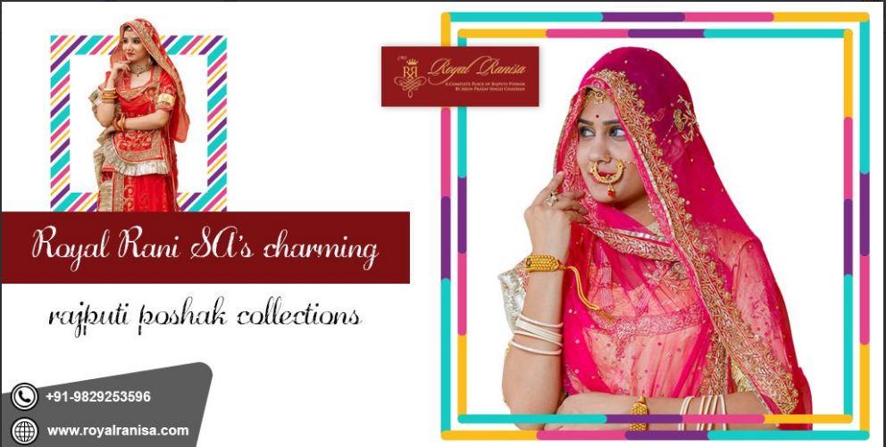 Charming Rajputi Women Dress In Jaipur